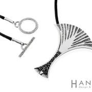 Yggdrasil | hopea 925, hiekka | kaulakoru
