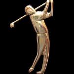 Golfari   Kulta 585   Rintaneula