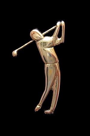 Golfari | Kulta 585 | Rintaneula