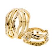 Obtine | Keltakulta 750, timantit | Sormukset