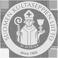 Suomen kultaseppienliiton logo
