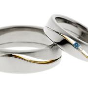 Tunturi | Valkokulta 585, kultaus, timantit | Vihkisormus